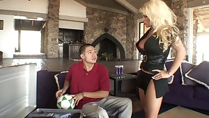 Kirmess mom gets drilled hard by her step-son