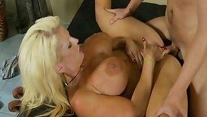 Exotic pornstar Alura Jenson with respect to pulsate big tits, squirting porn clip