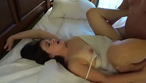 Slut Wife Threesome and Facsimile Facial