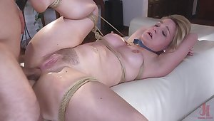 Obedient milf butt fucked in brutal modes while naked plus slutty