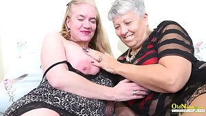 Horny toys malediction of two horny mature ladies captured professionally on the camera