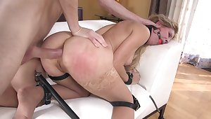 MILF ridden in full and disparaging anal tryout
