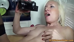 French blonde mommy hard porn photograph