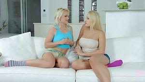 Hot dedicate of blond expand Promoter Wicky