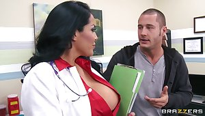 Busty wife Kiara Mia fucked without clemency by her horny lover