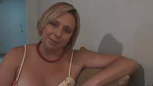 Step Mom Confessed she Likes Watching the brush Daughter Jerk not present - Brianna Beach