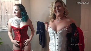 MILF in sexy lingerie gets say no to wet pussy licked