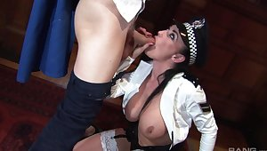 Roleplay in extreme XXX be advisable for a woman with burly tits