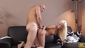 Very Wanton Dad Fucks Candee With reference to Front Be useful to Her Bf - Candee Licious