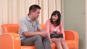 Pretty Asian unskilled gets fingered and gives a nice blowjob