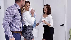 Prime have 3 akin intercourse in all directions servants